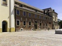 Byggnader av abbeyen Arkivfoton