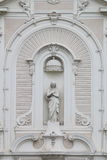 Del av kyrkan av helgon-Ferréolles Augustins, Marseille, Frankrike royaltyfri fotografi