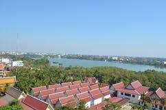 Del av landskapet Khon Kaen thailand Royaltyfri Fotografi