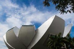 Del av modern futuristisk byggnad Royaltyfri Foto