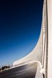 Del av Olympic Stadium Athens Grekland Arkivfoton