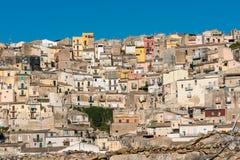 Del av Ragusa Ibla i Sicilien Royaltyfri Bild