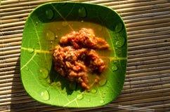 Del av sambal som sida Arkivfoton