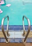 Del av simbassängen Royaltyfria Bilder