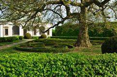 Trädgård i Kromeriz, tjeckisk republik Royaltyfria Bilder