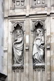 Del av Westminster Abbey Originally som byggs i det 11th århundradet och l Arkivfoto