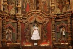 del bac historycznej misji San Xavier. Zdjęcia Stock