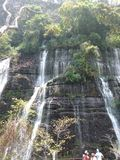 Del Baral de Cascada de los Chorros photo stock