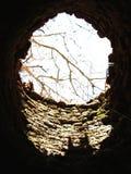 del buco nero pozzo all'interno Fotografia Stock Libera da Diritti