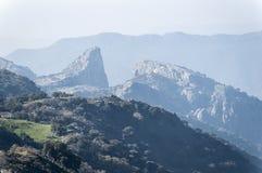 Del cabrero, sierra de Cadice, Andalusia di Salto fotografia stock libera da diritti