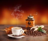 Del caffè vita ancora Immagini Stock Libere da Diritti