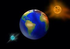 Del calentamiento del planeta. Imagenes de archivo