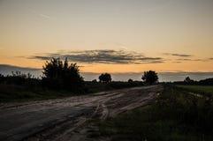 Del camino Fotografía de archivo