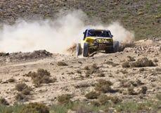 Del camino Nevada que compite con con errores Foto de archivo libre de regalías
