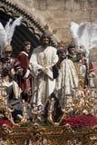 Del Carmen Painful Holy Week de la fraternidad en Sevilla Fotografía de archivo libre de regalías