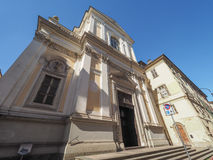 Del Carmine church in Turin Stock Photography