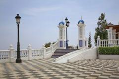 Del Castell de Placa en Benidorm españa Foto de archivo