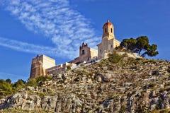 Del Castillo de Santuario de la Virgen Fotografia de Stock