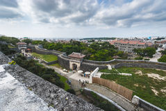 ` del castillo de Shuri del `, Okinawa imagen de archivo