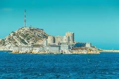 ` Del castillo francés d si, prisión famosa mencionada en la novela de Dumas Monte Cristo, Marsella foto de archivo