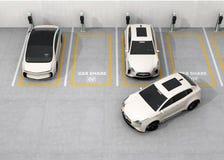 """½ del concepï di car sharing"""" Fotografie Stock"""