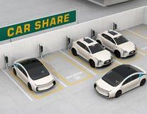 """½ del concepï di car sharing"""" Fotografia Stock"""
