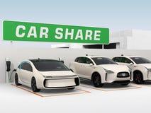 """½ del concepï di car sharing"""" Immagine Stock"""