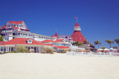 Del Coronado Hotel, San Diego USA Stock Photography