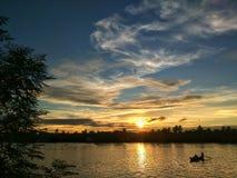 ¤ del  del ¤â del  del ¤â del  del â di tramonto Fotografie Stock Libere da Diritti