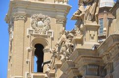 Del della basilica pilar Immagine Stock