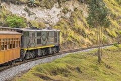 Del Diablo Train Trip Alausi Ecuador de Nariz Fotografía de archivo