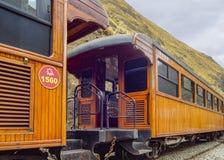 Del Diablo Train Trip Alausi Ecuador de Nariz Fotos de archivo libres de regalías