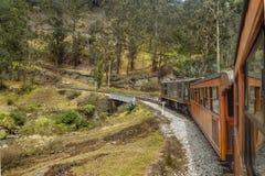 Del Diablo Train Trip Alausi Ecuador de Nariz Foto de archivo libre de regalías