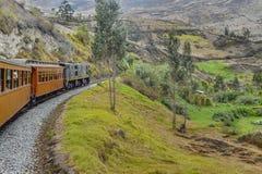 Del Diablo Train Trip Alausi Ecuador de Nariz Imagen de archivo libre de regalías