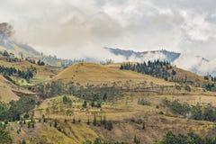Del Diablo Trip Landscape Scene de Nariz Fotografía de archivo