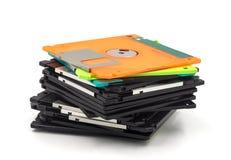 Del disco blando aislada en el fondo blanco Fotografía de archivo libre de regalías