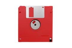 Del disco blando aislada encendido Imagen de archivo libre de regalías
