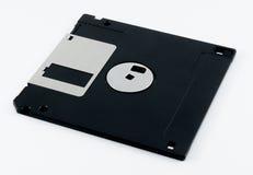 Del disco blando negro aislada en el fondo blanco Fotos de archivo libres de regalías