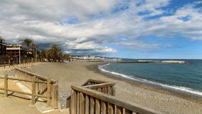 Del Duque-Marbella-Andaluzia-Espanha-Europa da praia Imagens de Stock