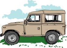 Del ejemplo del vehículo de camino para los diseños libre illustration