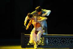 Del eufemismo de la canción- acto conmovedor en segundo lugar de los eventos del drama-Shawan de la danza del pasado Foto de archivo