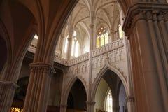 Del Expiatorio de Ла esquina Templo перспективы внутреннее стоковая фотография