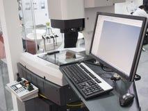 Del för hög precision för kontroll vid aotumatevisionsystemet fotografering för bildbyråer
