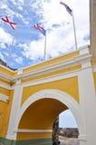 del felipe fortmorro Puerto Rico san Arkivfoton