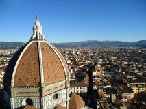 del Fiore Florence Maria Santa zdjęcia stock