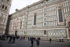 Del Fiore Piazza Duomo de Florence Cathedral Basilica di Santa Maria Image stock
