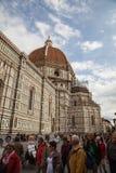 Del Fiore Piazza Duomo de Florence Cathedral Basilica di Santa Maria Images stock