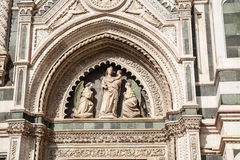 Del Fiore Piazza Duomo de Florence Cathedral Basilica di Santa Maria Photographie stock libre de droits