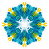  del flowerdell'acquerello Fotografia Stock