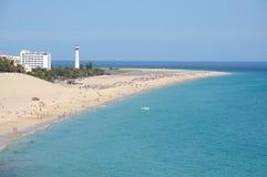 del fuerteventura matorral playa Ισπανία Στοκ Εικόνες